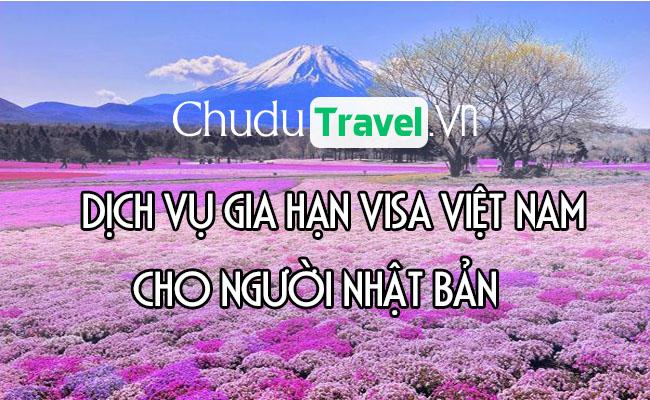 Dịch vụ gia hạn visa cho người Nhật Bản ở Việt Nam
