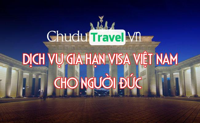 Dịch vụ gia hạn visa cho người Đức ở Việt Nam