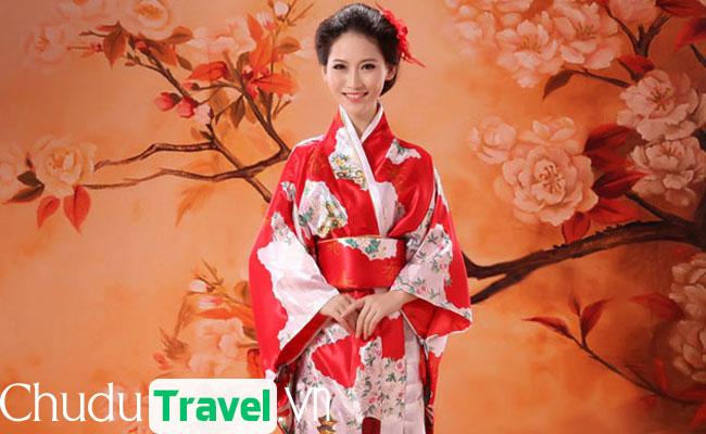 Kymono – điểm tô cho người phụ nữ Nhật