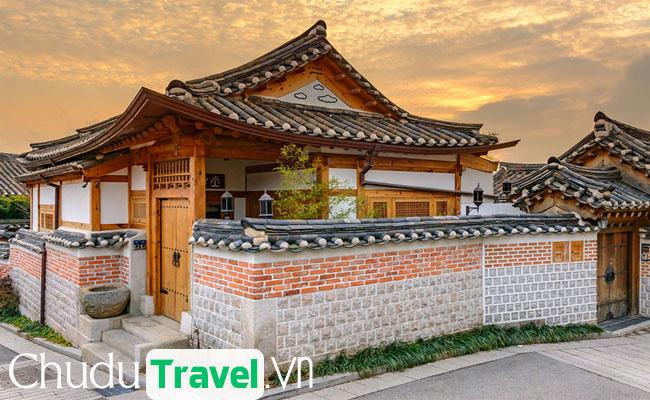 Ngôi làng cổ Bukchon Hanok Hàn Quốc – một không gian bình yên