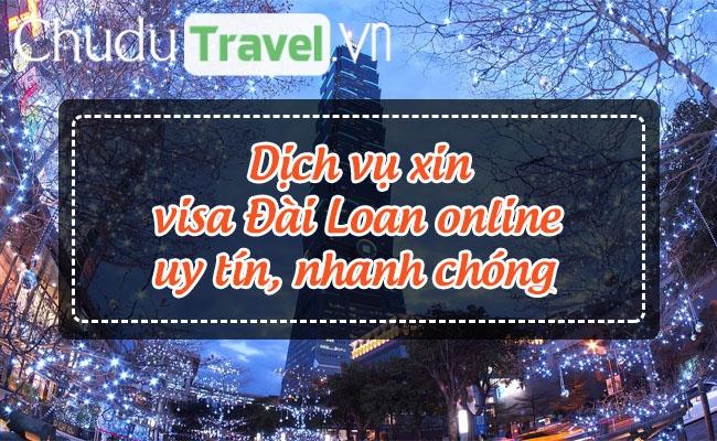 dich vu xin visa dai loan online