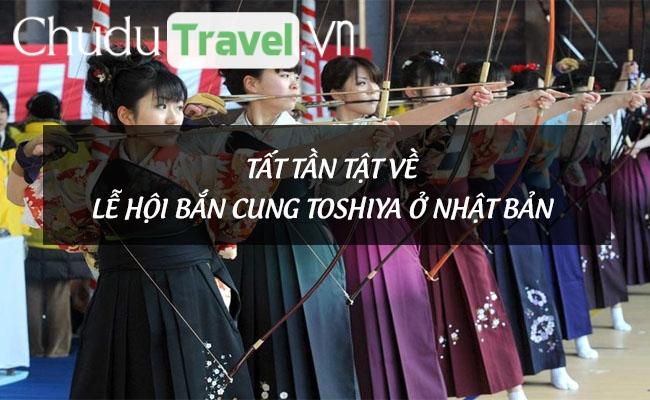 Tất tần tật về lễ hội bắn cung Toshiya ở Nhật Bản