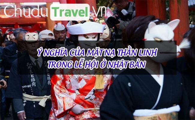 Ý nghĩa của mặt nạ thần linh trong lễ hội ở Nhật Bản