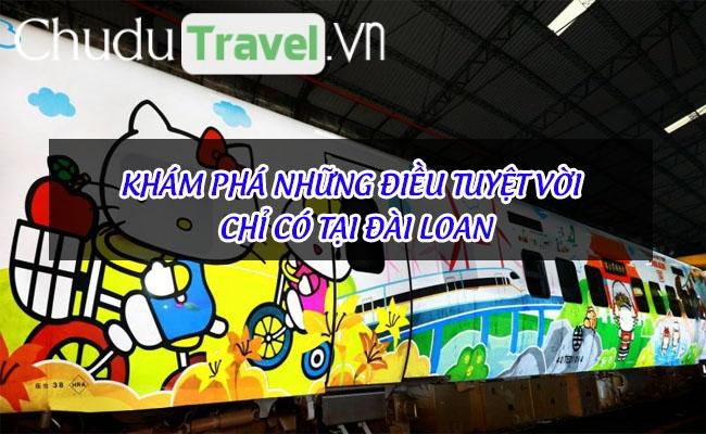 Khám phá những điều tuyệt vời chỉ có tại Đài Loan