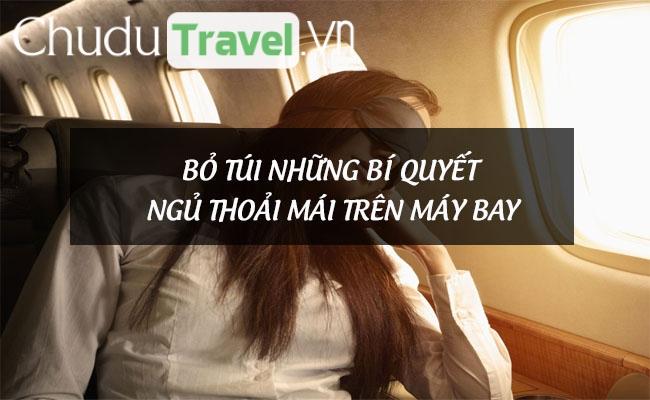 Bỏ túi những bí quyết ngủ thoải mái trên máy bay