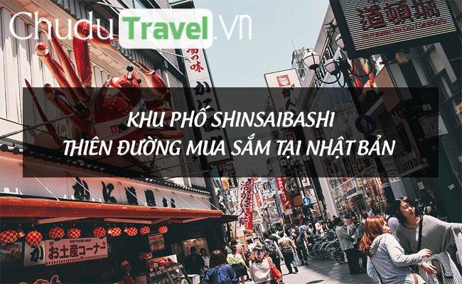 Khu phố Shinsaibashi – Thiên đường mua sắm tại Nhật Bản