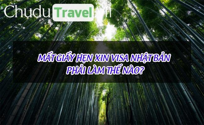 mat giay hen xin visa nhat ban phai lam the nao